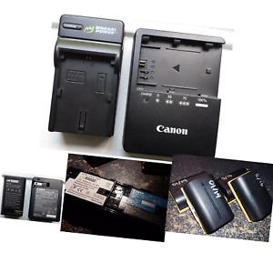 Wasabi Power Canon LP-E6, LP-E6N Replacement (2 Batteries + Charger)