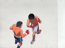 HAJIME NO IPPO - FIGHTING SPIRIT Japanese animation cel w/douga A2/B2