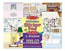 Melissa and Doug Sticker Pad Play House (reusable)