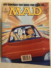 Mad Magazine 313 Sept 1992 Crash Test Dummy Alfred E Neuman Car Test Drive