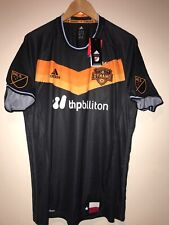 Houston Dynamo Soccer Adidas Jersey M Authentic Player 2016 Men's MLS $125 NWT