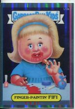 Garbage Pail Kids Chrome Series 1 Refractor Lost Card L10a Finger Paintin Fifi