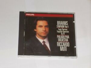 Brahms Symphony No.4 Philadelphia Orchestra Riccardo Muti Philips CD 1988.