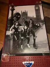 """Kiss """"London, May 1976"""" (reissue B&W Image, Import Poster)"""