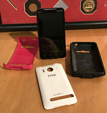 """HTC EVO 4G - 1GB - White (Sprint) Smartphone PC36100 Not Tested Y2 AS IS """""""