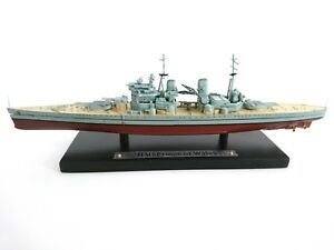 HMS Anson Scale Model Ship Atlas Editions 7134129 1:1250 New in a box!