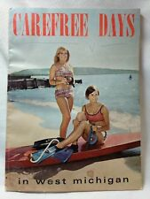 1966 Carefree Days in West Michigan Vacation Book Great VIntage Pictures and Ads
