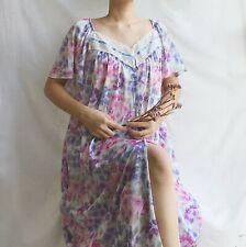 Vintage Vanity Fair Nightie, Vintage Nightgown, Vintage Ladies Nightwear Size Xl