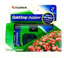 FUJI Film Flash Quick Snap OUTDOOR 35MM Disposable 27 Exposure Camera expired