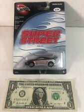 Hot Wheels Super Street Series Silver / Black Toyota Celica - 2002