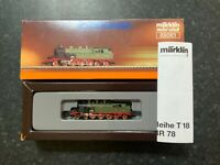 Marklin spur z scale/gauge T18 Steam Locomotive.