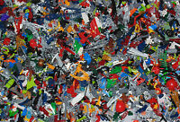 500g bag of LEGO BIONICLE Parts & Pieces Assorted Random Various Lot 0.5KG