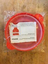 Hot Pot Red Silicone Popcorn Popper -New