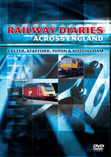 Railway Diaries - Exeter, Stafford, Toton & Nottingham DVD