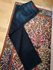 Hugo Boss Jeans Herren Neu Gr.W36 L36 Denim blau