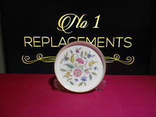 Minton Haddon Hall Gold Round Dish or Tray 5.65""