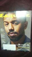 Esquire Magazine Winter 2020 THE Michael B. Jordan STORY BLACK PANTHER 2019 men