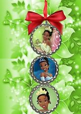 Princess Tiana  beautiful bottlecap christmas ornaments tree decorations