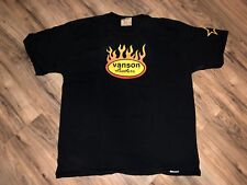 MADE IN USA Vintage 90s VANSON Leathers Motorcycle T-Shirt Short Sleeve XL VTG