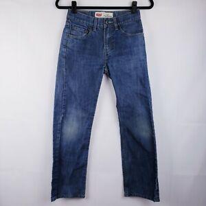 Levis 514 Slim Straight Jeans Boys Size 12 Regular