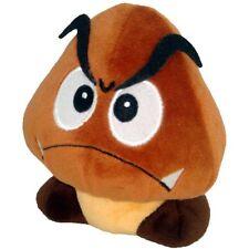 "Official Super Mario Bros Goomba Soft Plush Toy - 5"" Turtle Nokonoko New"