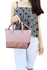 a3ec0912064 Kate Spade Greta Court INA Dustypeony Glitter Crossbody Bag Handbag WKRU5610