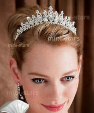 Bridal Wedding Sparkling Tiara use Swarovski Crystal T1494