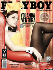 PLAYBOY MEXICO YOLANDA VENTURA ABRIL 2013 PLAYBOY MEXICAN EDITION APRIL 2013