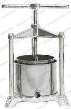 Torchietto torchio premitutto Inox alluminio Pavi AL lt 3