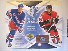 2005-06 Upper Deck SPx Base Set Of 90 Hockey Cards  BV = $25.00