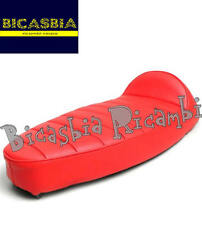 1411 - SELLA SELLONE ROSSA CON BORDINO VESPA 50 SPECIAL R L N 125 ET3 PRIMAVERA