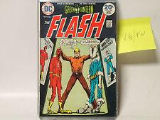 The Flash #226 Dc Comics 1974 Vg/Fn vs Captain Cold, Green Lantern Solo