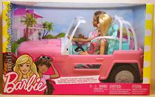 Barbie Strand Cruiser Auto mit zwei Puppen FPR59 NEU/OVP Cabrio