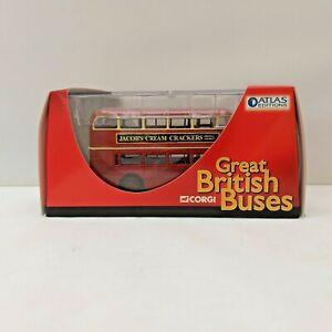Corgi Atlas Editions Vintage London Double Decker Bus Great British Buses