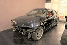 BMW M3 E46 FL Facelift Unfallfahrzeug Coupe SMG II MwSt. Carbonschwarz- Zimt