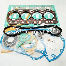 New Full Gasket Kit With Cylinder Head Gasket For Mitsubishi S4E2 S4E2T Diesel