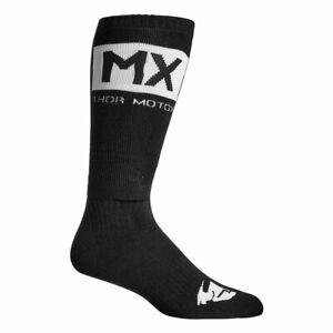 Thor MX Motorcycle Motorbike Socks Black / White