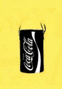 Japanese Design Coca-Cola contour bottle designed Shoulder Bag Black 30cm