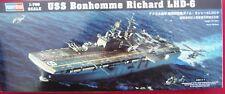 HOBBYBOSS 83407 USS BONHOMME RICHARD LHD-6 1:700 BAUSATZ FLUGZEUG-TRÄGER - NEU