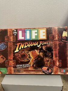 2008 Hasbro - The Game of Life - Indiana Jones Collectors Edition - Complete