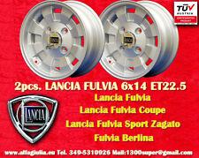 2 Cerchi Cromodora Lancia Fulvia Flavia 6x14 Wheels Felgen Llantas jantes TUV