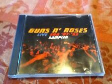 Rare-Guns N' Roses - Live Era '87-'93 Sampler 8 Tracks Special Radio CD Freeship