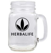 Herba Mug, Handmade Herbalife Mason Mug, 16oz Herbalife Mason Mug, Herbalife