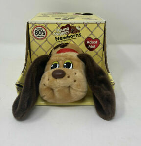 "Pound Puppies Newborns 2020 6"" Classic Tan Brown NIB 80'S COLLECTION Adopt Me"
