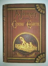1874 Jules Verne A JOURNEY TO THE CENTRE OF THE EARTH 2nd American Edition