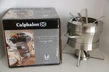 Calphalon Fondue Pot Stainless Steel 2 Quart Original Box FREE SHIPPING!