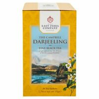 The East India Company Campbell Darjeeling Black Tea Sachets