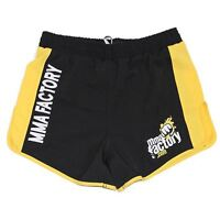 MMA FACTORY Renegade Ring Edition 2.0 Shorts - Black / Yellow