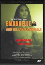 Emanuelle and the Last Cannibals (PAL IMPORT DVD) Strong Uncut Version! Gemser!