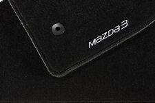 MAZDA 3 bm/bn 63 onwards FLOOR MATS STANDARD ACCESSORY BRAND NEW GENUINE PART
